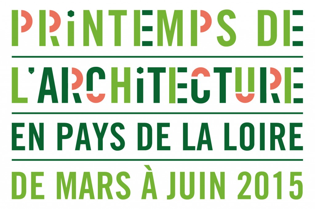 Logo, printemps de l'architecture 2015