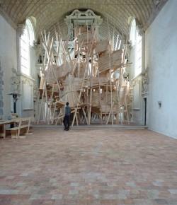 Chapelle des Calvairiennes – Mayenne – En cours