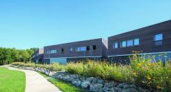 Siège social de Saumur Habitat à Saumur et les logements Chantemerle à Bagneux – 5 juin