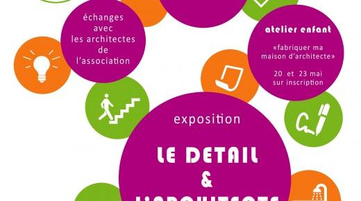 Rencontre autour de la qualité architecturale à travers le détail – Nantes du 16 au 26 mai