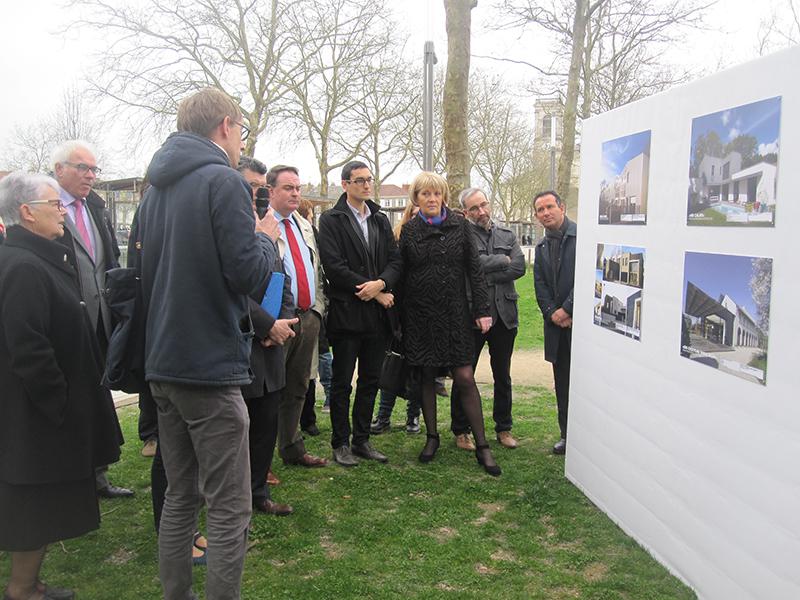 Promenade architecturale et inauguration