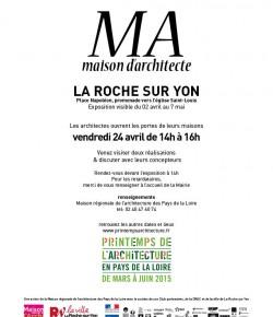 Ma Maison d'architecte – la Roche-sur-Yon- 24 avril