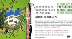 Architecture contemporaine et Musique – Fontenay le comte – 30 mai